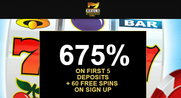 ★ 60 No Deposit Spins + 675% Welcome Package at 7reels Casino