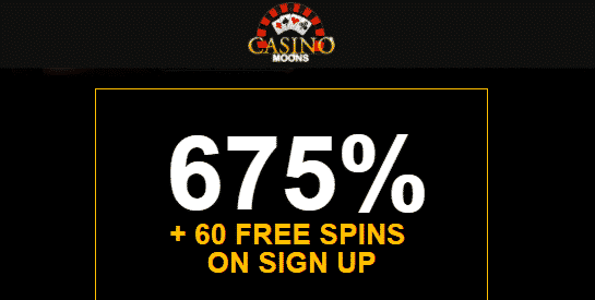 ★ 60 No Deposit Spins on Dragon Kingdom at Casino Moons