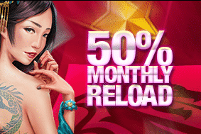 》Get a 50% Monthly Match Bonus up to C$100 at Dragonara Casino