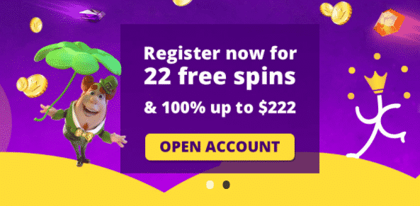 ★ Get 22 No deposit Spins at YakoCasino