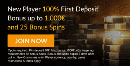 》Claim a 100% First Deposit Bonus up to C$1000 + 25 Spins on Upgradium at EuroGrand Casino