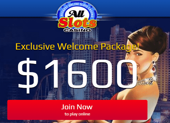 》50% Reload Bonus up to C$600 at All Slots Casino