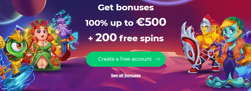 ★ Deposit and Get a 100% First Deposit Bonus up to C$500 + 200 Free Spins at AlfCasino.com