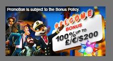 》100% First Deposit Bonus up to C$200 at Vegas Paradise Casino