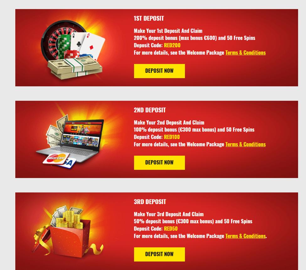 14Red Casino Bonuses → 21-08-2019