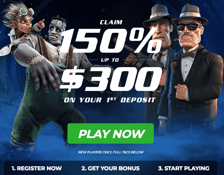★ 150% Neteller Bonus up to C$300 on First Deposit at GoWild Casino