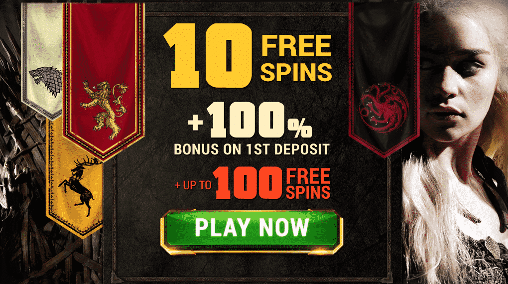 ★ 10 Microgaming Free Spins Registration Bonus on Game of Thrones at Argo Casino