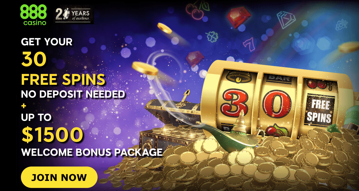★ 30% Reload Bonus up to C$350 on Third Deposit at 888casino