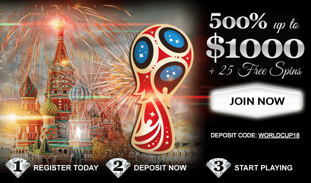 ★ Deposit and Grab a 500% First Deposit Bonus up to C$1000 + 25 Free Spins at Diamond Club VIP Casino
