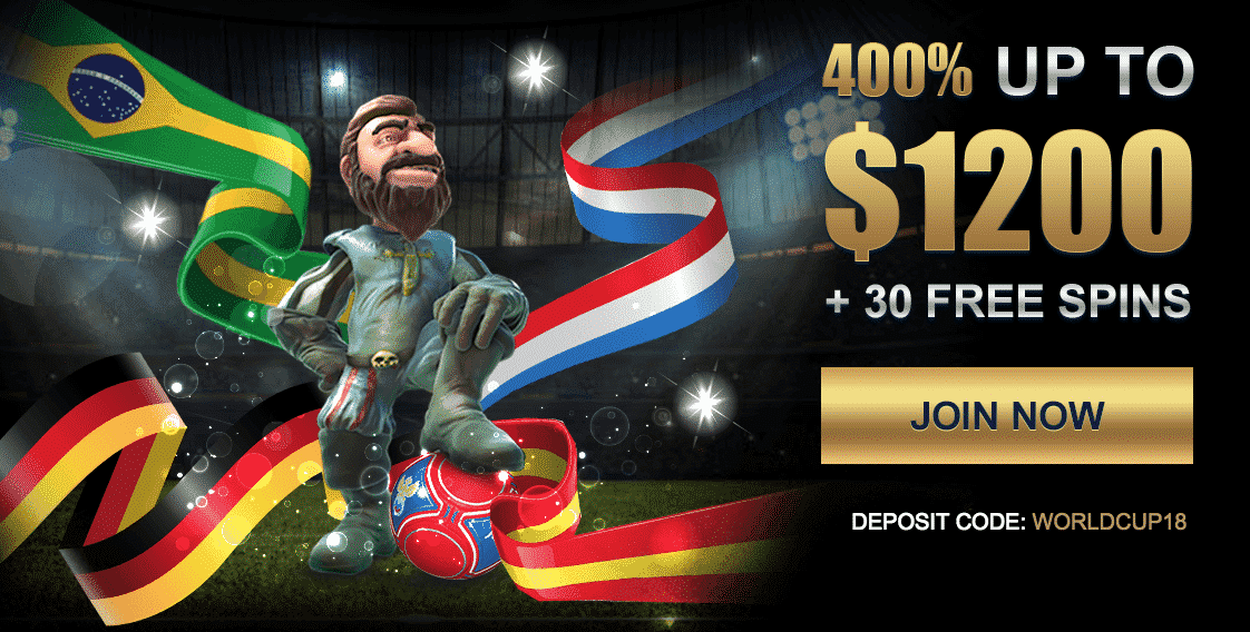 ★ Claim a 400% First Deposit Bonus up to C$1200 + 30 Free Spins at Casino Napoli