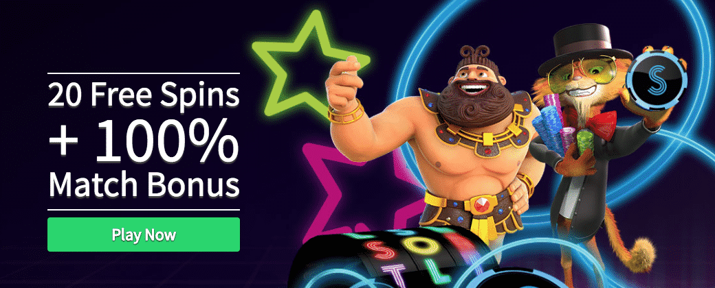 ★ Register and Claim 20 No Deposit Free Spins at Slots Heaven