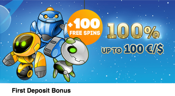 ★ 100% First Deposit Bonus up to C$100 + 100 Free Spins at PlayAmo Casino