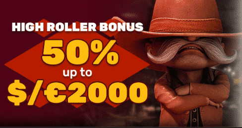 ★ Get a 50% Highroller Match Bonus up to C$2000 at PlayAmo Casino