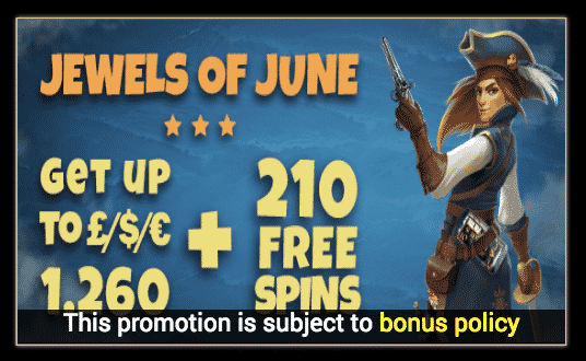 ★ 20 Free Spins on Wild Seas at Conquer Casino