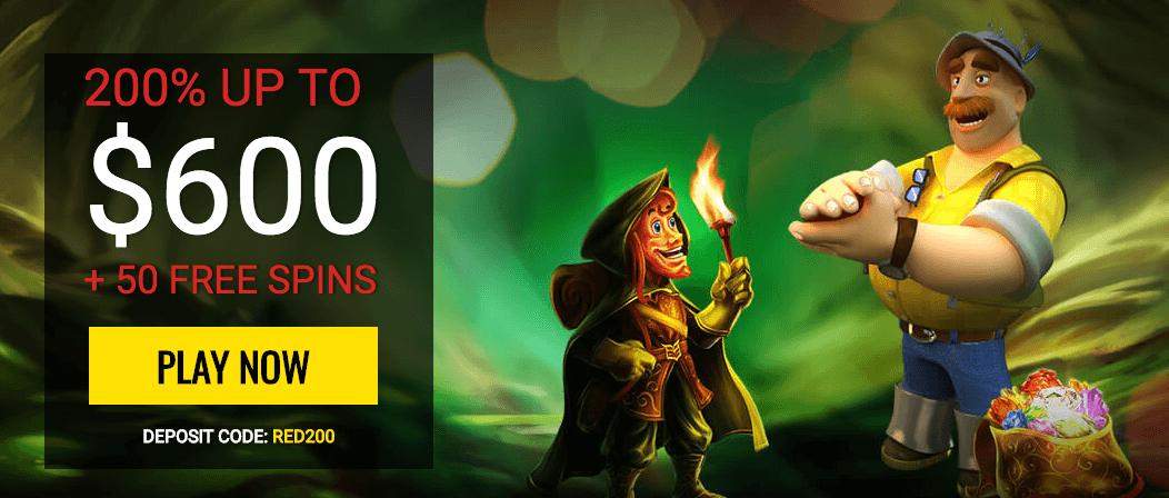 ★ First Deposit Bonus: 200% up to C$600 + 50 Free Spins at 14Red