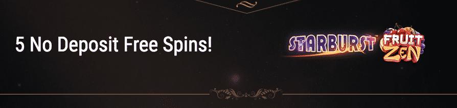 ★ Claim 5 No Deposit Free Spins at King Billy Casino