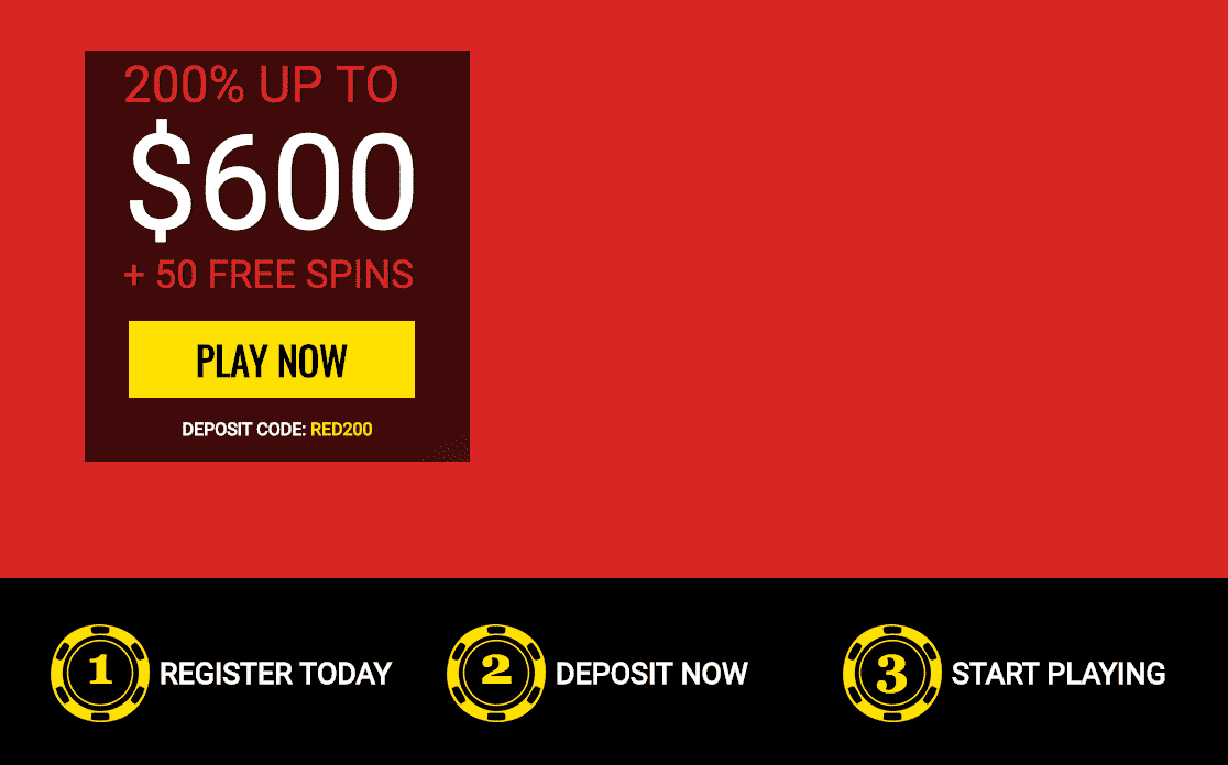 ★ Get a 200% Roulette Bonus up to C$600 + 50 Free Spins at 14Red