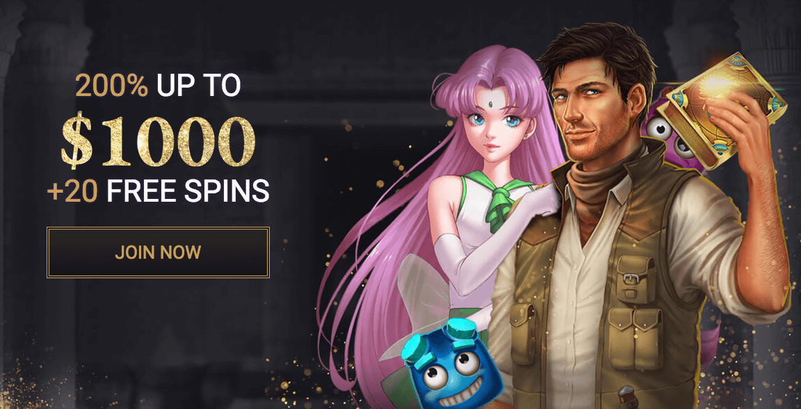 ★ 200% First Deposit Bonus up to C$1000 + 20 Free Spins at Split Aces Casino