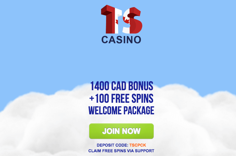 ★ 100 Free Spins + C$1400 Welcome Package at Times Square Casino