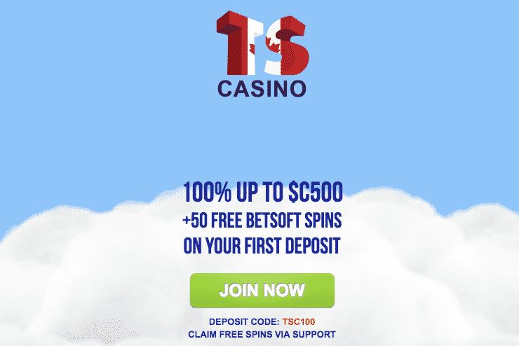 ★ First Deposit Bonus: 100% Match up to C$500 + 50 Free Betsoft Spins at Times Square Casino