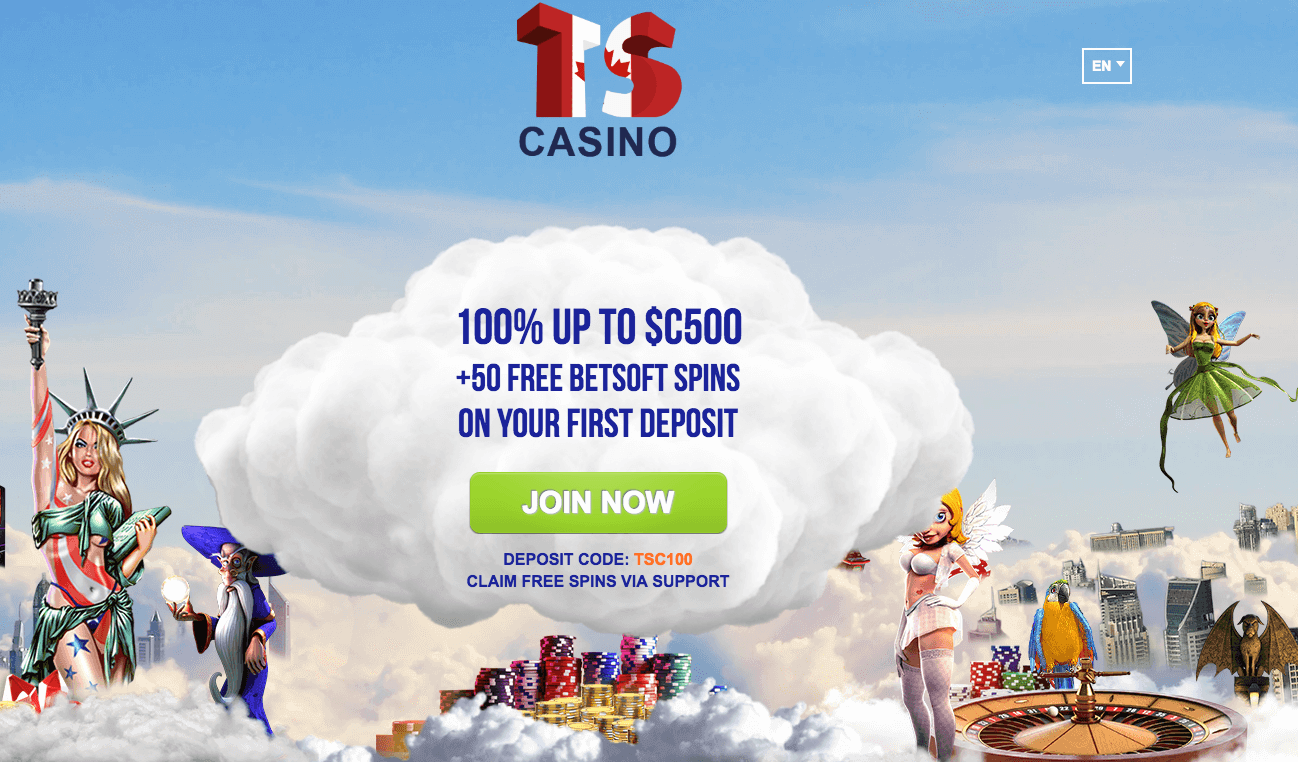 ★ 150% Reload Bonus up to C$500 + 50 Free Spins at Times Square Casino