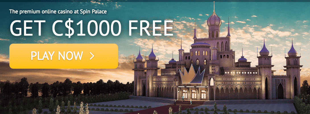 ★ Second Deposit Bonus: 100% up to C$300 at Spin Palace Casino