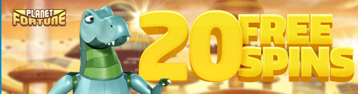★ Try your Luck with 20 Free Spins on Registration at LuckyDino Casino