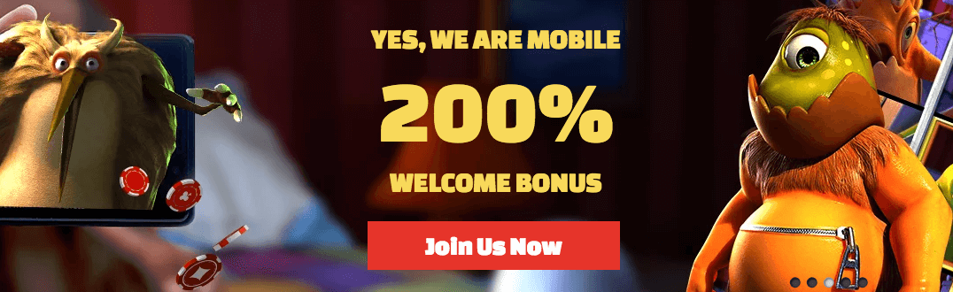 ★ Grab a 200% Mobile Bonus up to C$800 on Your First Deposit at Slots Zoo