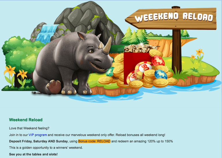 ★ Get up to 150% Highroller Bonus at Slots Zoo