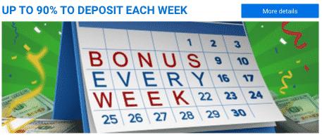 ★ Highroller Weekly Bonus up to 90% at Vulkan Vegas