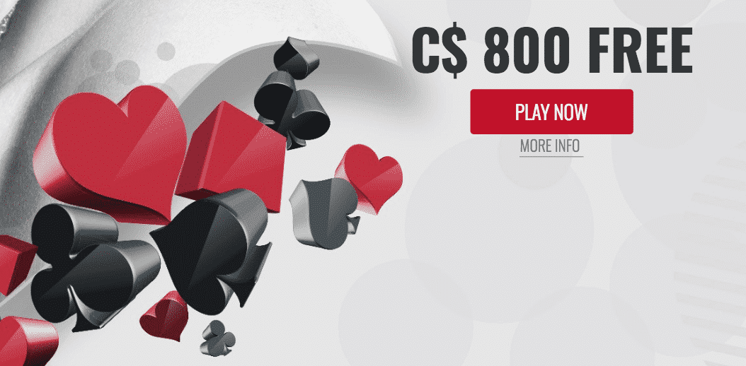 ★ Get a 100% Bonus up to C$800 on First Deposit at Platinum Play