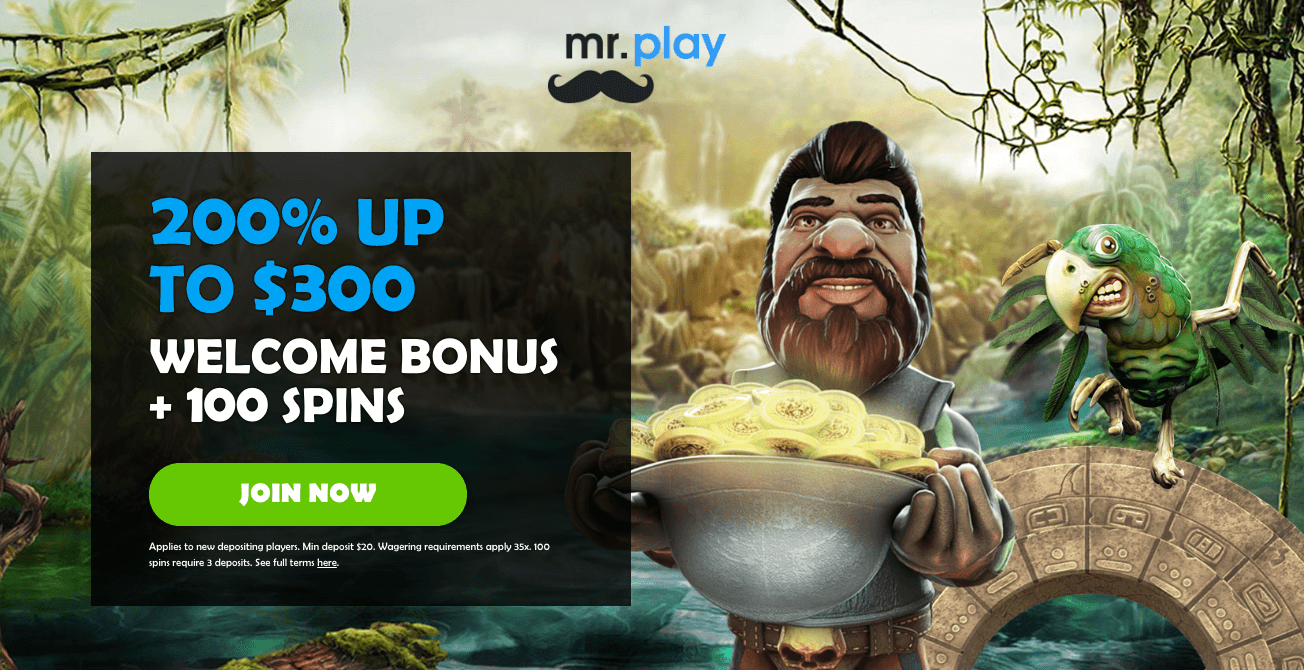 ★ Make a Second Deposit and Get 40 Free Spins at Mr Play Casino