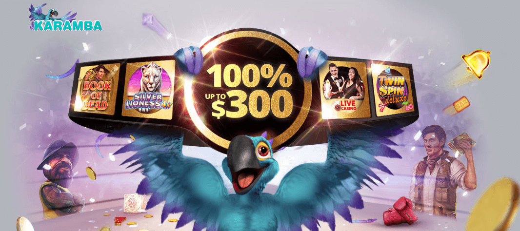 ★ Exclusive First Deposit Bonus: 100% up to C$300 + 20 Free Spins at Karamba Casino