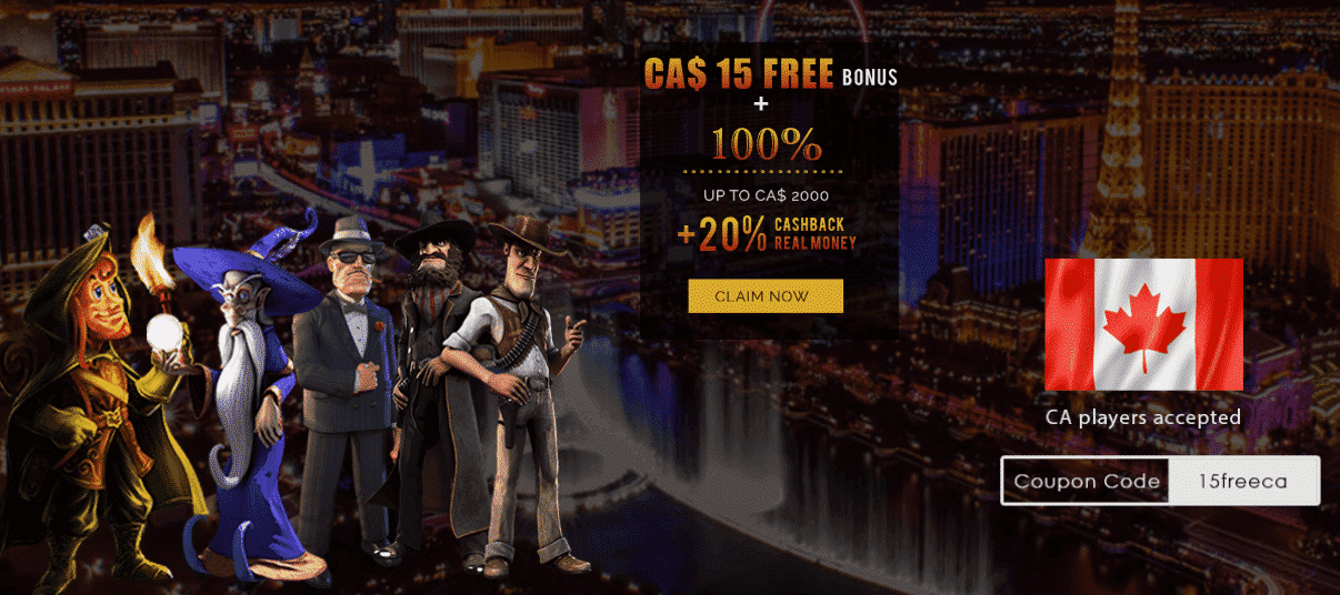 ★ C$15 Free + 100% First Deposit Bonus up to C$2000 + 20% Cashback at Cromwell Casino