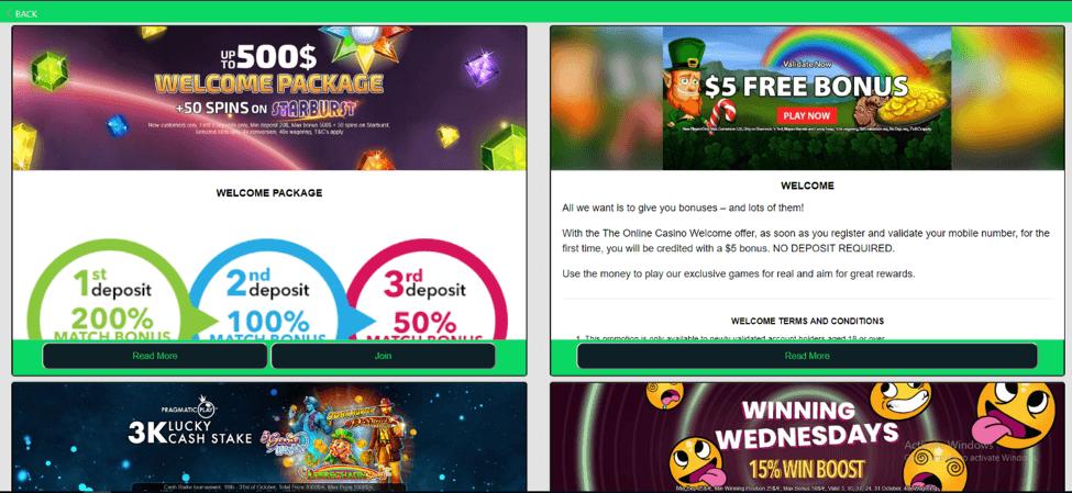 Online Casino Bonus Codes 2021