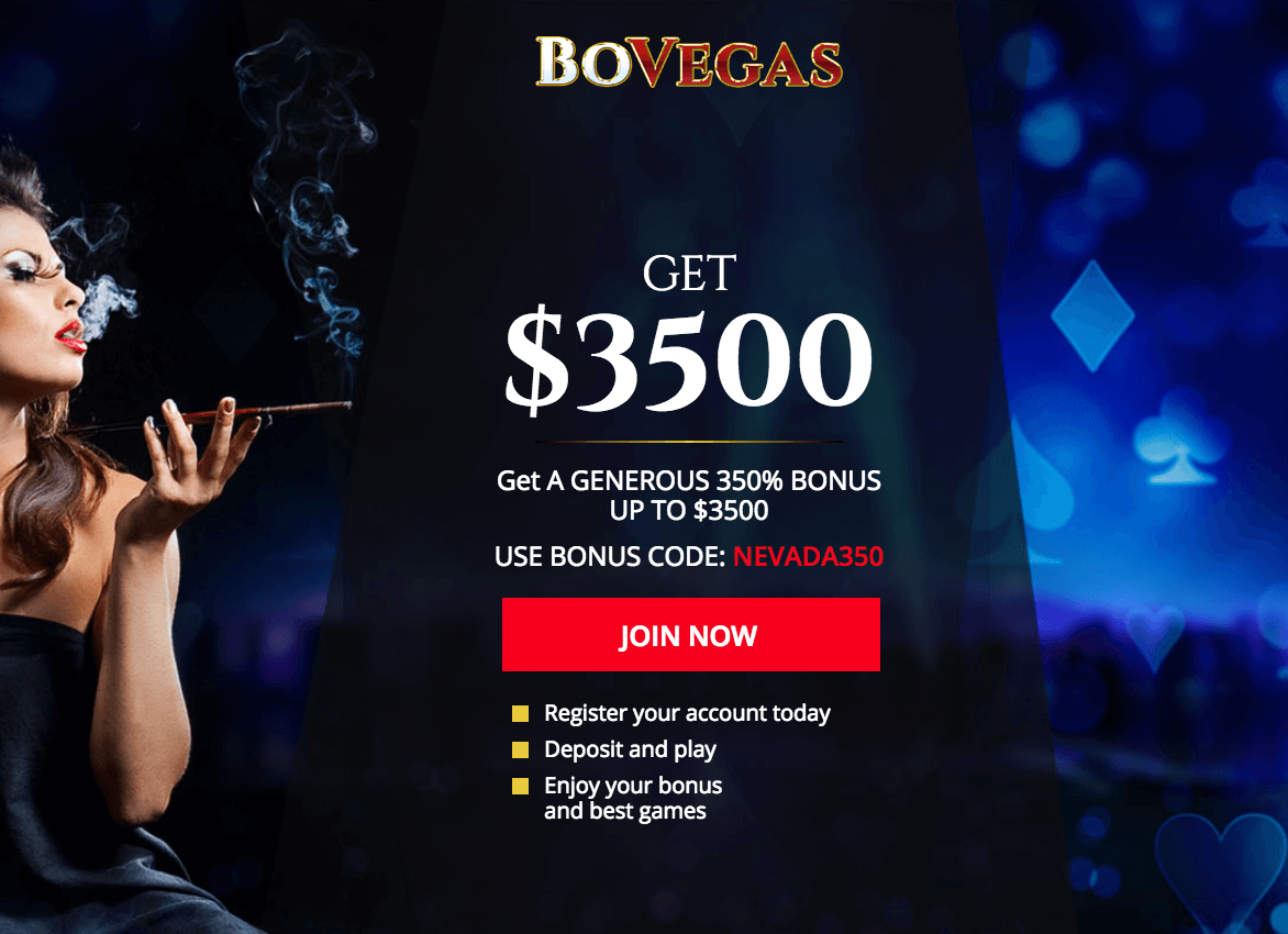 ★ Get 350% up to C$3500 First Deposit Bonus at BoVegas