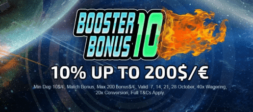 ★ Get a 10% Deposit Match up to C$200 at The Online Casino
