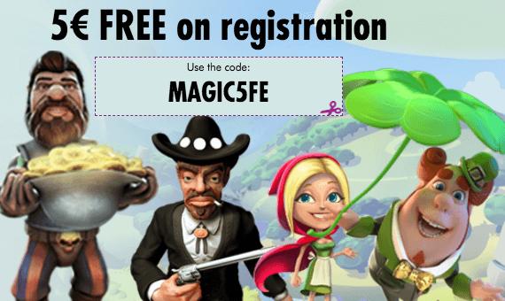 ★ Claim a C$5 Free Bonus at Magical Spin