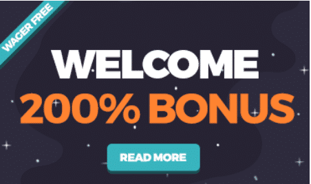 ★ 200% up to C$200 wager-free first deposit bonus at Happy Hugo