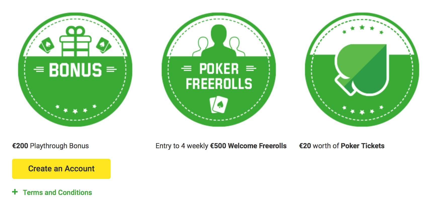 ★ Grab a C$200 First Deposit Bonus on Poker at Unibet