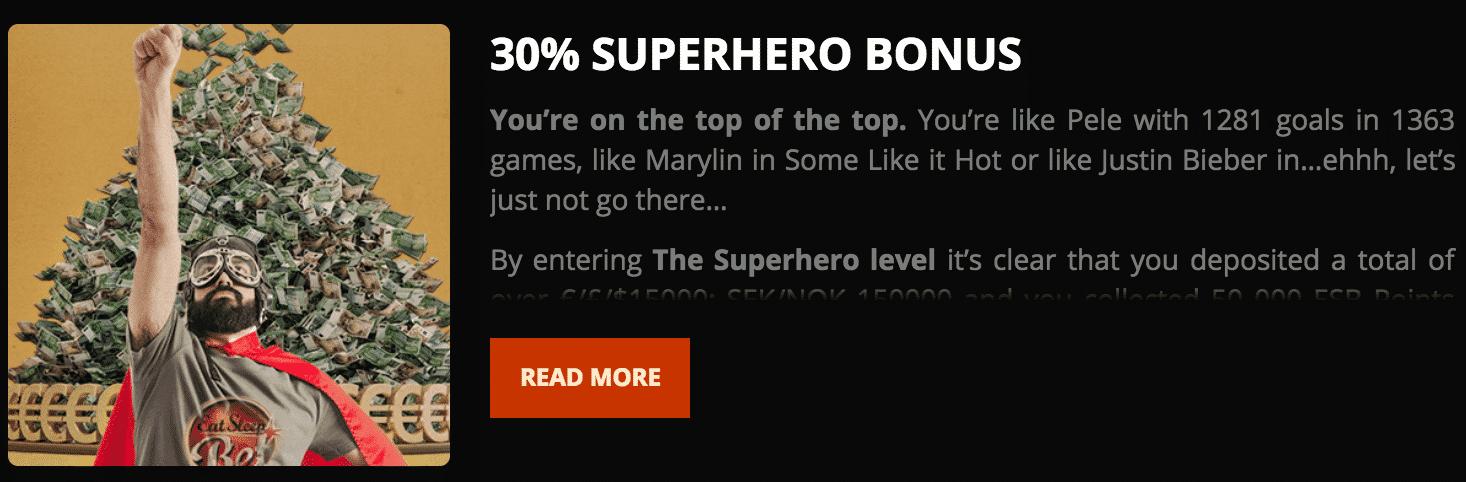 ★ 30% Match Bonus at EatSleepBet Casino
