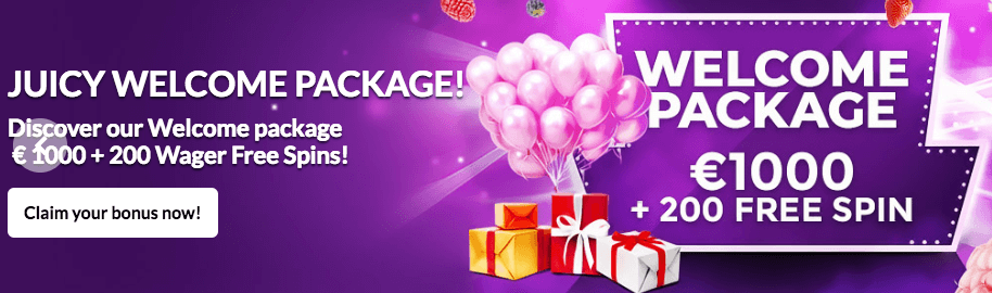 ★ Get an Welcome Package of C$1000 + 200 Free Spins on BerryBurst at Vegasberry