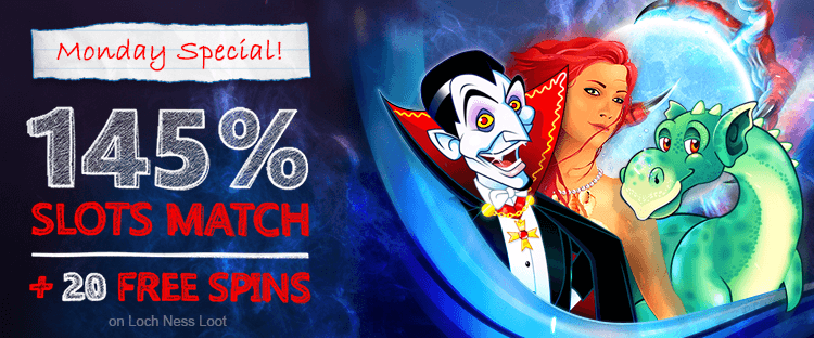 ★ Get a 145% Slots Match Bonus + 20 Free Spins at FreeSpin Casino