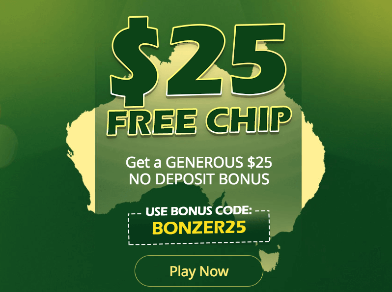 ★ Grab C$25 No Deposit Free Chip at Two-Up Casino