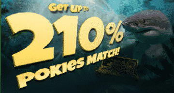 ★ Get up to 210% Match Bonus + 70 Free Spins on Scuba Fishing at Two-Up Casino