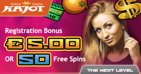 ★ Register and Get C$5 No Deposit Bonus or 50 Free Spins at Kajot Casino