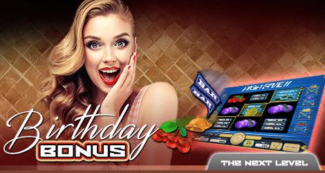 ★ Get 20 Free Spins Birthday Bonus at Kajot Casino