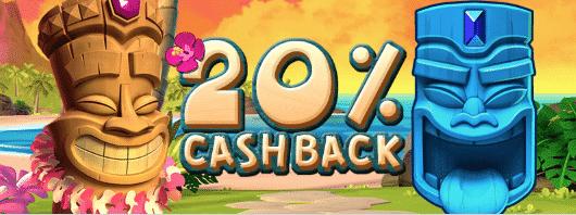 ★ 20% Cashback Bonus up to C$500 at Bonanza Game