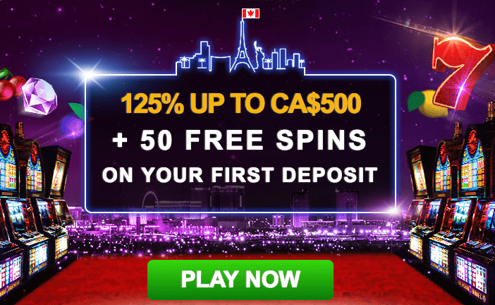 ★ 125% First Deposit Bonus up to C$500 + 50 Bonus Spins at Casino Las Vegas