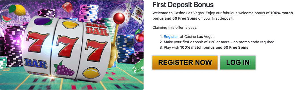 ★ First Deposit Bonus of 100% up to C$500 + 50 Free Spins at Casino Las Vegas